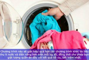 sử dụng máy giặt