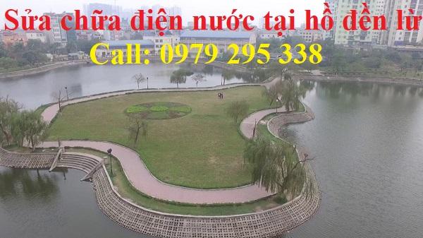 sửa chữa điện nước tại hồ đền lừ hoàng mai