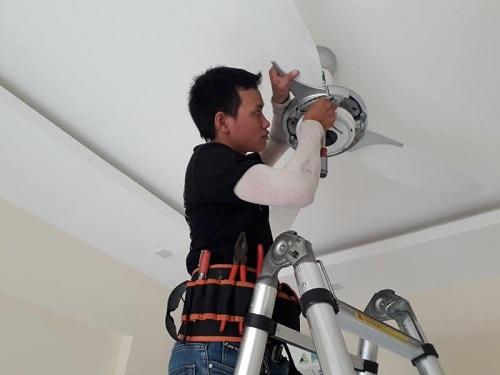 sửa quạt trần tại nhà