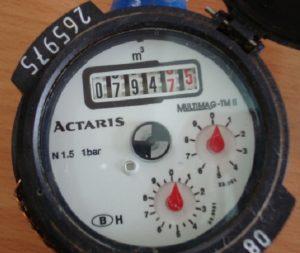 cách độc chỉ số đồng hồ nước