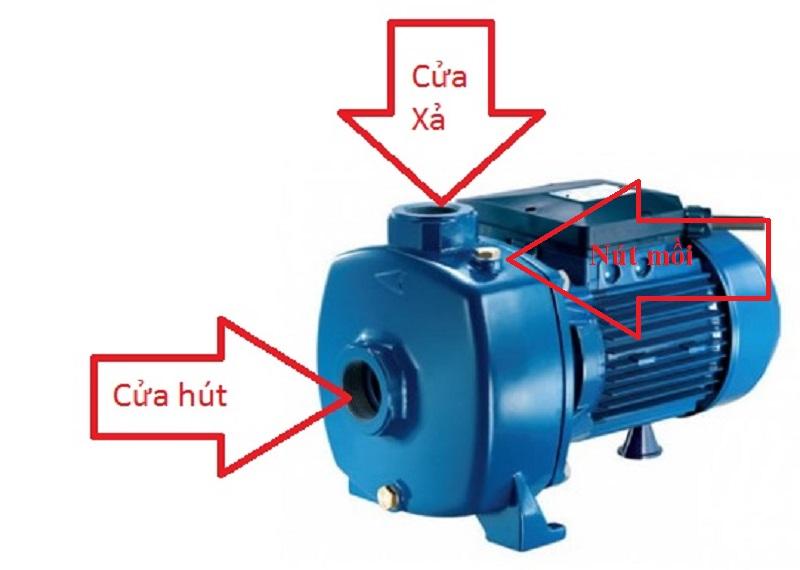 Cách mồi nước máy bơm