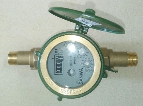 Cách tính đồng hồ nước 4 số