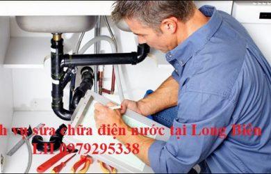 sửa chữa điện nước tại long biên