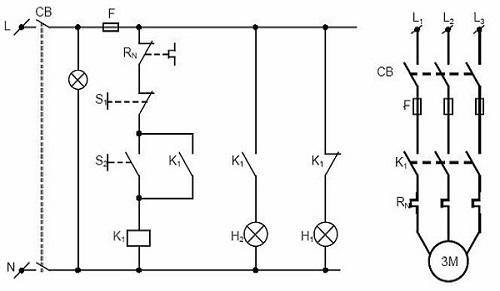 Cách đọc sơ đồ mạch điện công nghiệp đơn giản