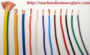 dây điện màu đỏ là âm hay dương
