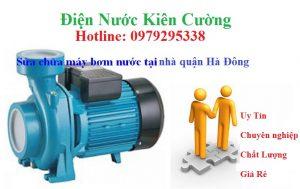 sửa chữa máy bơm nước tại quận Hà Đông