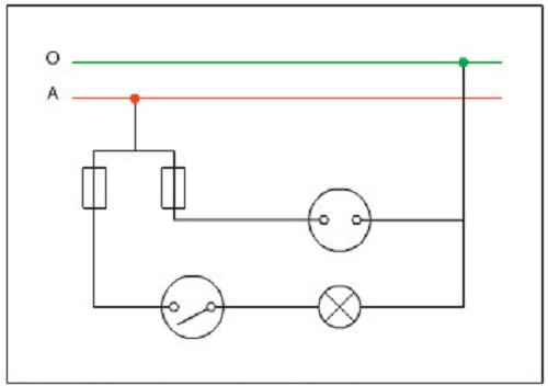 vẽ sơ đồ mạch điện