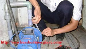 sửa chữa máy bơm nước tại quận Hai bà Trưng