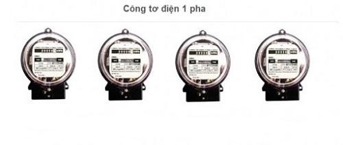 công tơ điện 1 pha