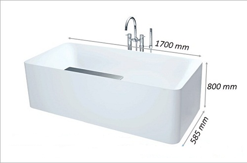 Kích thước bồn tắm