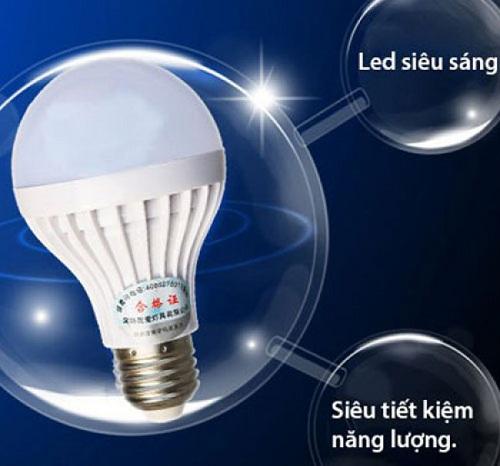 bóng đèn tích điện rạng đông