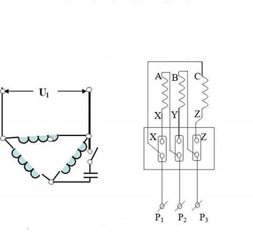 Cách đấu điện 3 pha tam giác